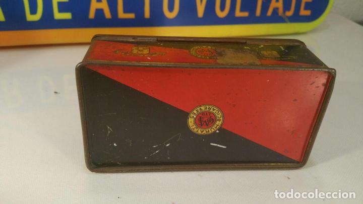 Paquetes de tabaco: CAJA METALICA MURATTIS ARISTON GOLD TIPPED CIGARETTES - Foto 3 - 107681947