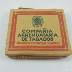 Paquetes de tabaco: COMPAÑIA ARRENDATARIA DE TABACOS. Lote 107899027
