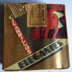 Paquetes de tabaco: PAQUETE DE TABACO LABORES DE CANARIAS - CIGARRILLOS ELEGANTES. Lote 108447695