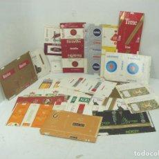 Paquetes de tabaco: COLECCION 20X PAQUETES TABACO RARO -PLANOS - VACIOS ¡¡VER FOTOS ¡¡ PAQUETE CIGARROS PITILLOS 5. Lote 108726375