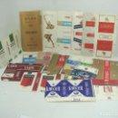Paquetes de tabaco: COLECCION 18X PAQUETES TABACO RARO -PLANOS - VACIOS ¡¡VER FOTOS ¡¡ PAQUETE CIGARROS PITILLOS 10. Lote 109333243