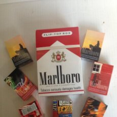 Paquetes de tabaco: CAJETILLAS DE TABACO DE COLECCIÓN. Lote 109372087