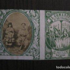 Paquetes de tabaco: MILITAR CUBA -MARQUILLA TABACO-EL COMERCIO- FABRICA DE CIGARROS-LA HABANA -VER FOTOS - (V- 13.234). Lote 109839807
