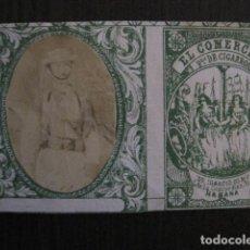 Paquetes de tabaco: MILITAR CUBA -MARQUILLA TABACO-EL COMERCIO- FABRICA DE CIGARROS-LA HABANA -VER FOTOS - (V- 13.240). Lote 109842135