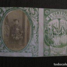 Paquetes de tabaco: MILITAR CUBA -MARQUILLA TABACO-EL COMERCIO- FABRICA DE CIGARROS-LA HABANA -VER FOTOS - (V- 13.245). Lote 109844703