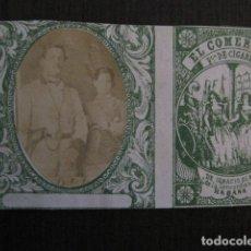 Paquetes de tabaco: MILITAR CUBA -MARQUILLA TABACO-EL COMERCIO- FABRICA DE CIGARROS-LA HABANA -VER FOTOS - (V- 13.247). Lote 109845639