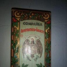Paquetes de tabaco: PAQUETE DE TABACO PICADURA SELECTA DE LA COMPAÑIA ARRENDATARIA DE TABACO. Lote 110253459