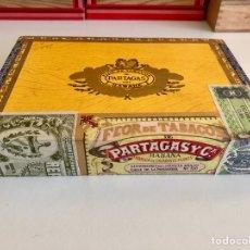 Paquetes de tabaco: CAJA PUROS SIN ABRIR,PRECINTADA,PARTAGAS,FLOR DE TABACOS,25 PUROS HABANEROS.CIGARS.. Lote 110334960