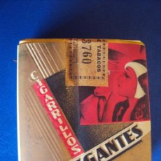 Paquetes de tabaco: (TA-170942)CAJA DE CIGARROS ELEGANTES - LABORES CANARIAS - COMPLETA - PRECINTADA. Lote 110452659