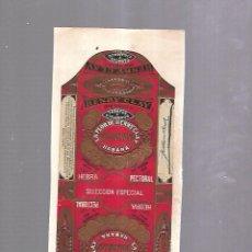 Paquetes de tabaco: CUBA. PAQUETE DE TABACO. AÑOS 20. CIGARROS LA FLOR DE HENRY Y CIA. SELECCION ESPECIAL. Lote 110530431