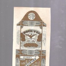 Paquetes de tabaco: CUBA. PAQUETE DE TABACO. AÑOS 20. CIGARROS BOCK Y CIA. ARROZ. Lote 110530863