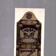 Paquetes de tabaco: CUBA. PAQUETE DE TABACO. AÑOS 20. CIGARROS BOCK Y CIA. ESPECIALES ARROZ. Lote 110531027