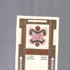 Paquetes de tabaco: CUBA. PAQUETE DE TABACO. AÑOS 20. CIGARROS GUARINA. GUARINA ARROZ. Lote 110532259