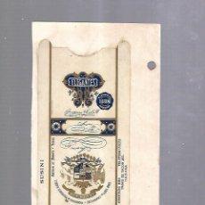 Paquetes de tabaco: CUBA. PAQUETE DE TABACO. AÑOS 20. CIGARROS LA HIDALGUIA. ELEGANTES. ARROZ. Lote 110532675