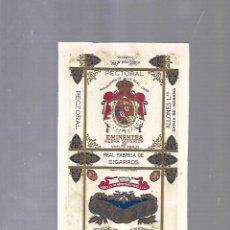 Paquetes de tabaco: CUBA. PAQUETE DE TABACO. AÑOS 20. CIGARROS LA EMINENCIA. PECTORAL. Lote 110532843