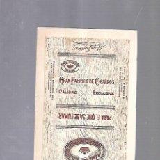 Paquetes de tabaco: CUBA. PAQUETE DE TABACO. AÑOS 20. CIGARROS MARIA GUERRERO.. Lote 110532943