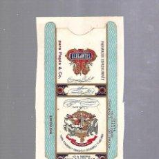 Paquetes de tabaco: CUBA. PAQUETE DE TABACO. AÑOS 20. CIGARROS LA HIDALGUIA. ELEGANTES. ARROZ. Lote 110532999