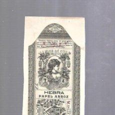 Paquetes de tabaco: CUBA. PAQUETE DE TABACO. AÑOS 20. CIGARROS LA FLOR DE CUBA. PAPEL ARROZ. Lote 110533159
