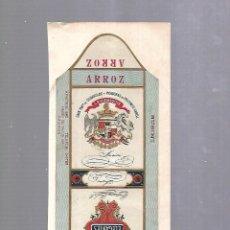 Paquetes de tabaco: CUBA. PAQUETE DE TABACO. AÑOS 20. CIGARROS LA HIDALGUIA. ELEGANTES. ARROZ. Lote 110533955