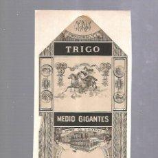 Paquetes de tabaco: CUBA. PAQUETE DE TABACO. AÑOS 20. CIGARROS LA VENCEDORA. MEDIO GIGANTES. Lote 110534047