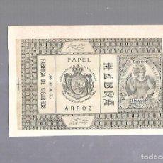Paquetes de tabaco: CUBA. PAQUETE DE TABACO. AÑOS 20. CIGARROS EL SIBONEY. HEBRA. Lote 110534095