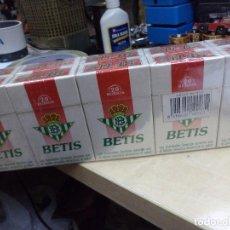 Paquetes de tabaco: CARTÓN DE TABACO RUBIO BETIS.REAL BETIS BALOMPIÉ.A ESTRENAR,10 PAQUETES AÑOS 90...200 CIGARRILLOS.. Lote 110747815