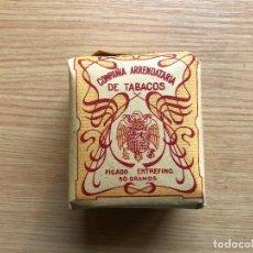 Paquetes de tabaco: ANTIGUO PAQUETE DE TABACO COMPAÑIA ARRENDATARIA DE TABACO, PICADO ENTREFINO 50 GRAMOS, SIN ABRIR. Lote 117498759