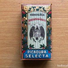 Paquetes de tabaco: ANTIGUO PAQUETE DE TABACO COMPAÑIA ARRENDATARIA DE TABACOS PICADURA SELECTA, SIN ABRIR. Lote 118192435