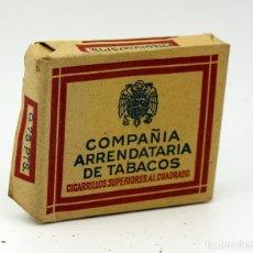 Maços de tabaco: PAQUETE TABACO - COMPAÑÍA ARRENDATARIA DE TABACOS - 20 CIGARRILLOS - SIN ABRIR - L3. Lote 110928375