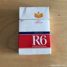 Paquetes de tabaco: PAQUETE DE TABACO VACIO R6 INTERNATIONAL REEMTSMA . Lote 111359391