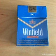 Paquetes de tabaco: PAQUETE DE TABACO VACIO WINFIELD. 30 CIGARILLOS. . Lote 111362007