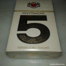 Paquetes de tabaco: PAQUETE TABACO KEVYTSAVUKE 5. Lote 111796959
