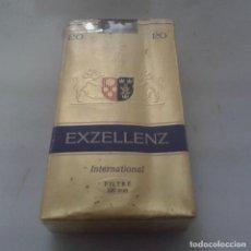 Paquetes de tabaco: PAQUETE TABACO EXZELLENZ. Lote 111798003