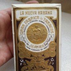 Paquetes de tabaco: PICADURA DE TABACO SUAVE LA NUEVA HABANA HIJOS DE JULIAN REIG SIN ABRIR PAPEL CON RELIEVE. Lote 112510595