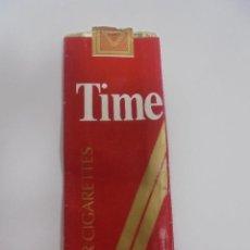 Paquetes de tabaco: PAQUETE DE TABACO. MARCA TIME. U.S.A. VACIO. VER FOTOS. Lote 112841819