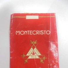 Paquetes de tabaco: PAQUETE DE TABACO. MARCA MONTECRISTO. FILTRO. VACIO. VER FOTOS. Lote 112841979
