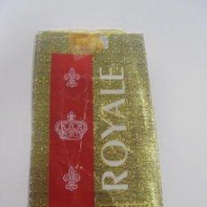 Paquetes de tabaco: PAQUETE DE TABACO. MARCA ROYALE. EXTRA LONGUE FILTRE. VACIO. VER FOTOS. Lote 112842135