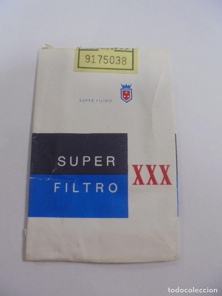 PAQUETE DE TABACO. MARCA SUPER FILTRO XXX. VACIO. VER FOTOS (Coleccionismo - Objetos para Fumar - Paquetes de tabaco)