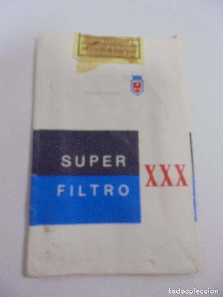 Paquetes de tabaco: PAQUETE DE TABACO. MARCA SUPER FILTRO XXX. VACIO. VER FOTOS - Foto 2 - 112842235