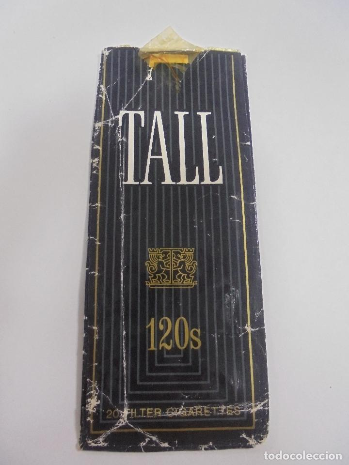 Paquetes de tabaco: PAQUETE DE TABACO. MARCA TALL. VACIO. VER FOTOS - Foto 2 - 112842555