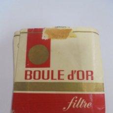 Paquetes de tabaco: PAQUETE DE TABACO. MARCA BOULE D'OR. FILTRE. VACIO. VER FOTOS. Lote 112842747