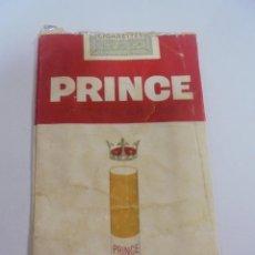 Paquetes de tabaco: PAQUETE DE TABACO. MARCA PRINCE OF BLENDS. FILTER TIPPED. VACIO. VER FOTOS. Lote 112842899