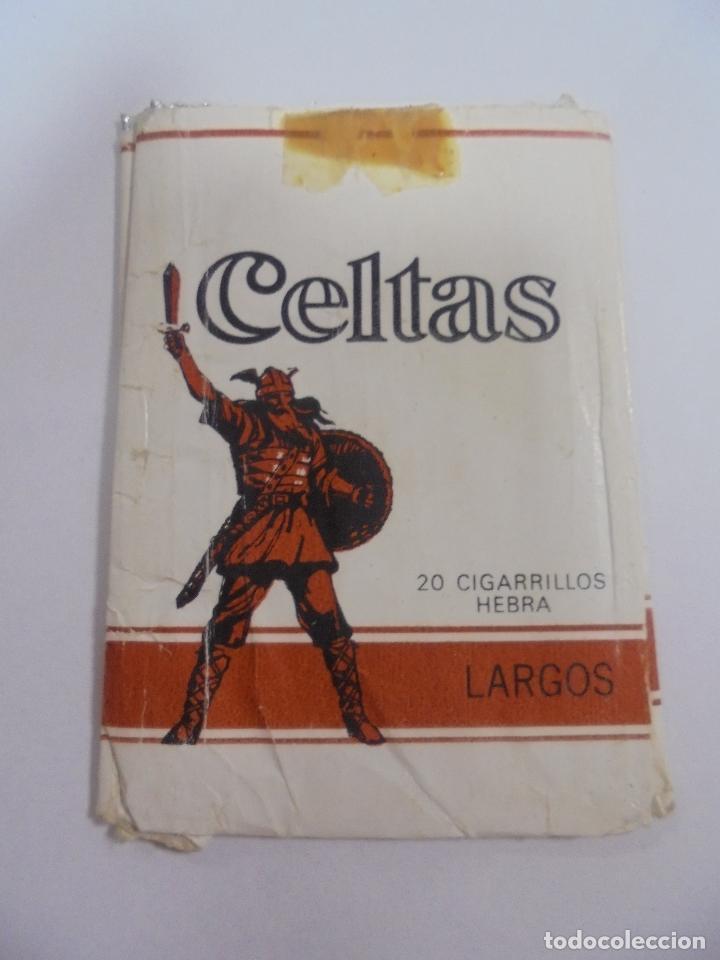 Paquetes de tabaco: PAQUETE DE TABACO. MARCA CELTAS. LARGOS. VACIO. VER FOTOS - Foto 2 - 112843207