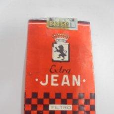 Paquetes de tabaco: PAQUETE DE TABACO. MARCA EXTRA JEAN. FILTRO. VACIO. VER FOTOS. Lote 112849251