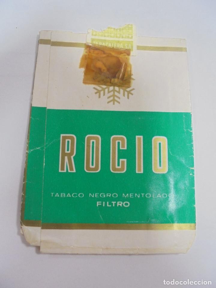 Paquetes de tabaco: PAQUETE DE TABACO. MARCA ROCIO. TABACO NEGRO MENTOLADO. VACIO. VER FOTOS - Foto 2 - 112849379