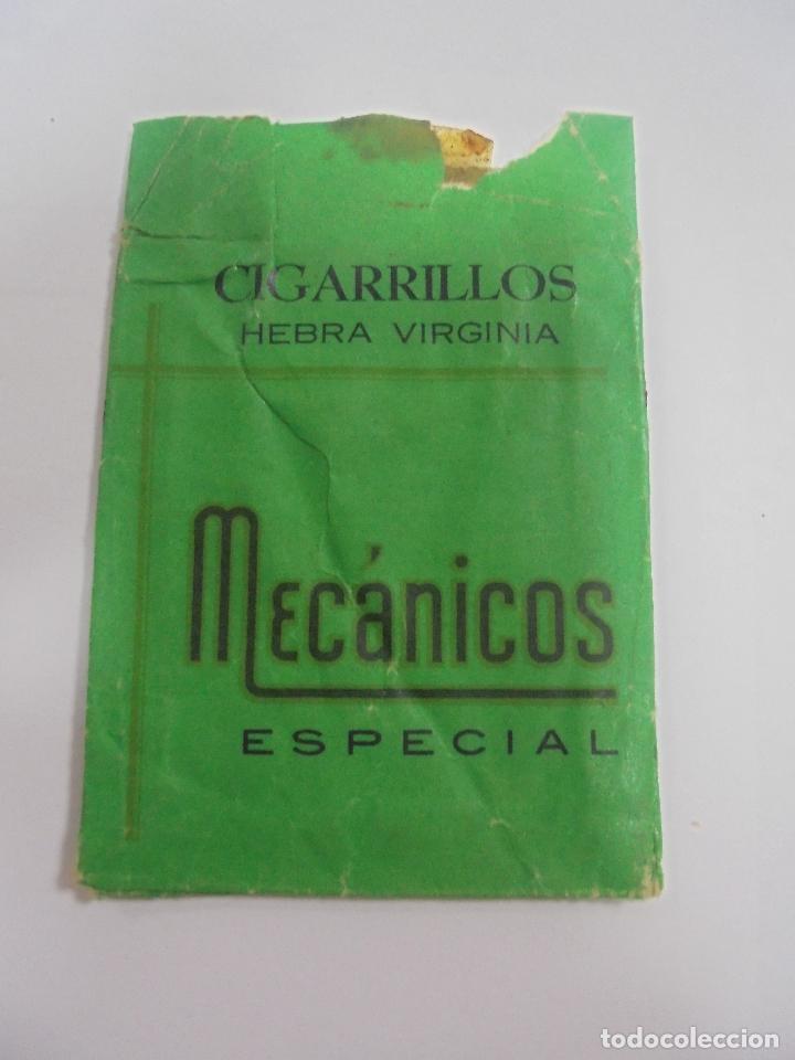 PAQUETE DE TABACO. MARCA MECANICOS ESPECIAL. PRODUCTOS REGENTA. VACIO. VER FOTOS (Coleccionismo - Objetos para Fumar - Paquetes de tabaco)