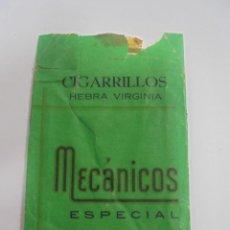 Paquetes de tabaco: PAQUETE DE TABACO. MARCA MECANICOS ESPECIAL. PRODUCTOS REGENTA. VACIO. VER FOTOS. Lote 112849507