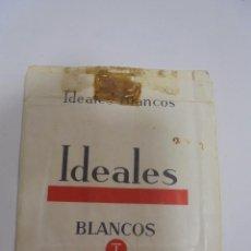 Paquetes de tabaco: PAQUETE DE TABACO. MARCA IDEALES. BLANCOS. VACIO. VER FOTOS. Lote 112849571