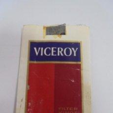 Paquetes de tabaco: PAQUETE DE TABACO. MARCA VICEROY. FILTER KINGS. VACIO. VER FOTOS. Lote 112849631