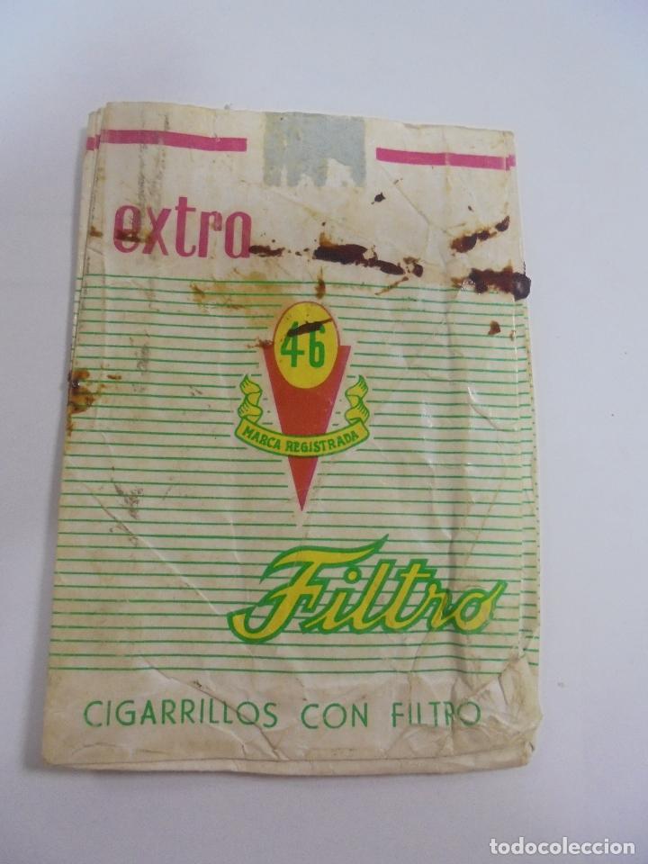 PAQUETE DE TABACO. MARCA EXTRA 45 FILTRO. VACIO. VER FOTOS (Coleccionismo - Objetos para Fumar - Paquetes de tabaco)